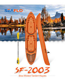 Kayak Seaflo SF-2003 Naranjo Doble