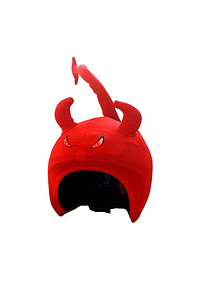 Cubre casco Coolcasc Demonio Led