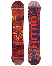 SNOWBOARD NIÑO NITRO RIPPER ORANGE