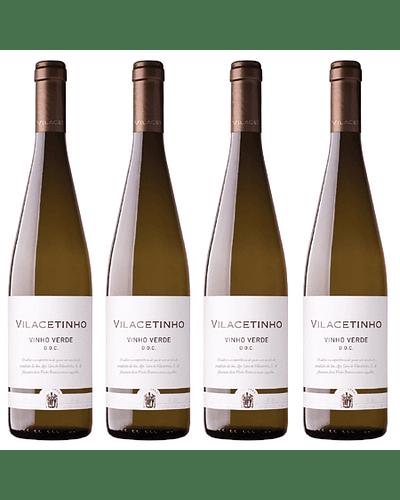 PROMOCIÓN 4 BOTELLAS Vino Blanco (Vinho Verde) VILACETINHO D.O.C. 75cl
