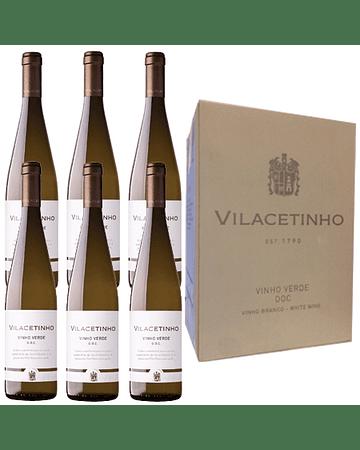 PROMOCIÓN CAJA CON 6 BOTELLAS Vino Blanco (Vinho Verde) VILACETINHO D.O.C. 75cl