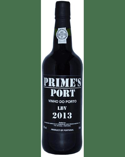Vino Oporto Tinto PRIME'S LBV 2013 75cl DOP