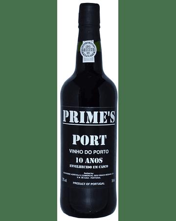 Vino Oporto Tinto PRIME'S TAWNY 10 AÑOS 75cl DOP