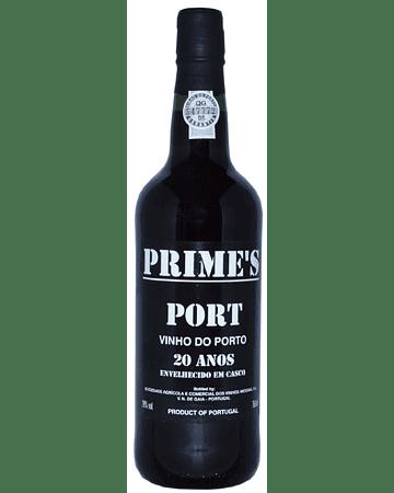Vino Oporto Tinto PRIME'S TAWNY 20 AÑOS 75cl DOP