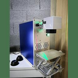 Laser fibra 20W portátil 200x200mm