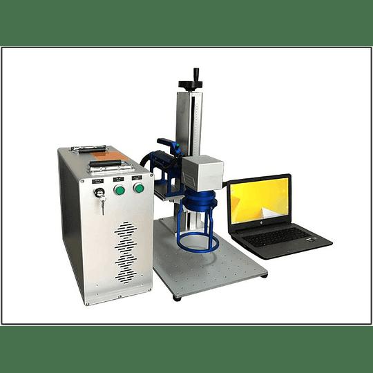 Laser fibra 30W portátil 300x300mm, gravação  - Image 7