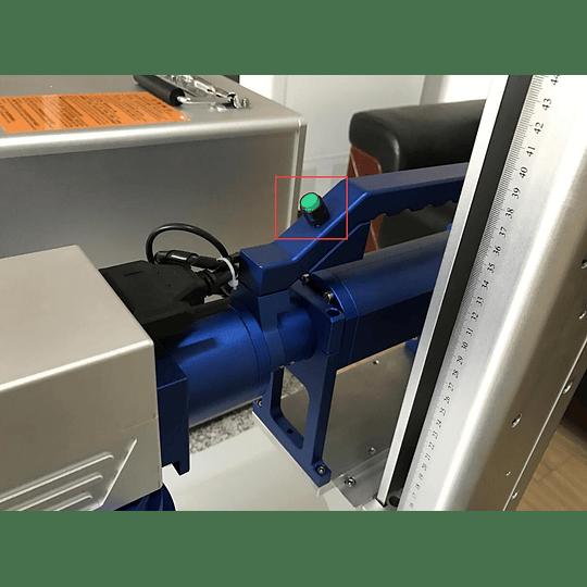 Laser fibra 30W portátil 300x300mm, gravação  - Image 3