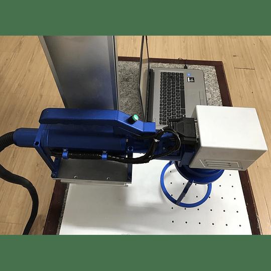 Laser fibra 30W portátil 300x300mm, gravação  - Image 5