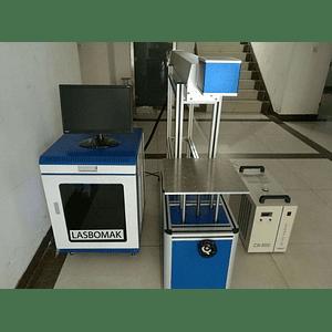 laser CO2 galvanométrico  /30w rádio frequencia, madeiras / papel, etc