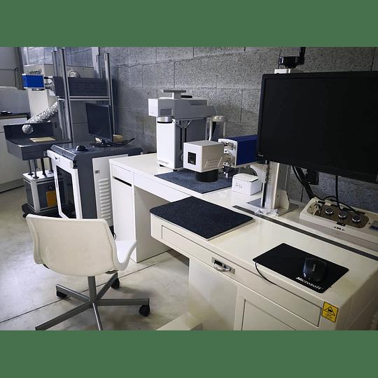 laser CO2 galvanométrico 100W tubo de vidro /30w rádio frequencia synrad USA madeiras / papel, etc  - Image 3