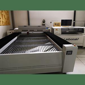 Laser Co2  2500x1300mm Metal e não metal 300w