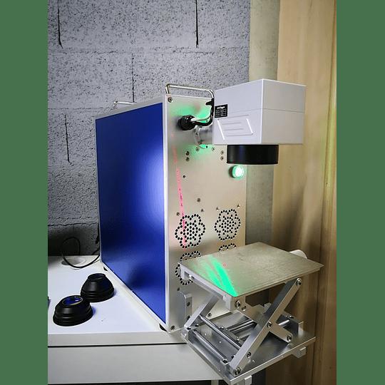 Laser fibra 30W portátil 300x300mm, gravação de metais e plásticos - Image 2