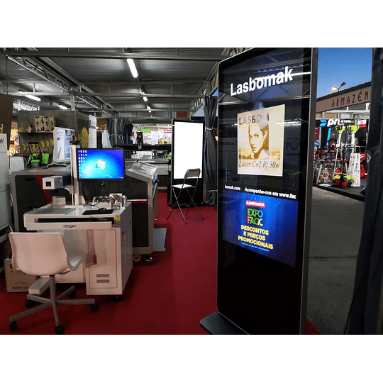 Laser fibra 30w . gravação de metais e não metais - Image 2