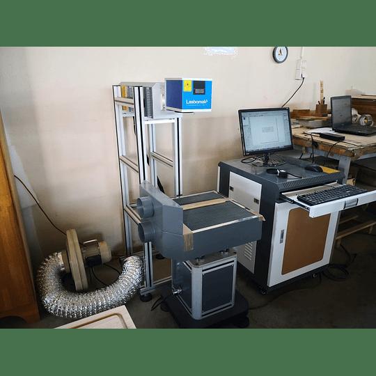 laser CO2 galvanométrico  /30w rádio frequencia, madeiras / papel, etc  - Image 5