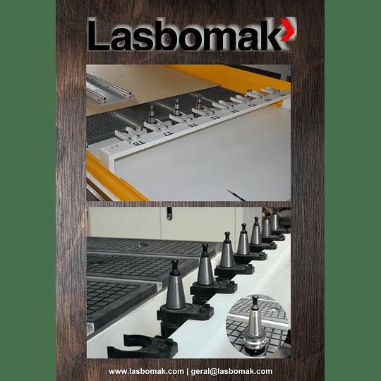 Fresadora 3000/2000mm troca de 8 ferramentas - Image 2