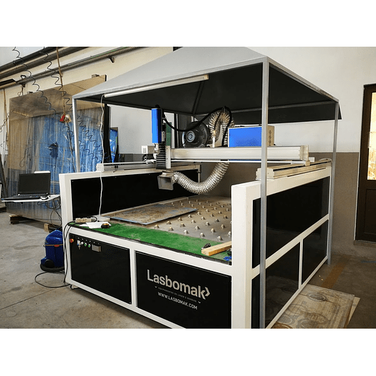 Máquina Laser de Gravação em Vidro/ Espelhos e metal 1600/1600mm - Image 1