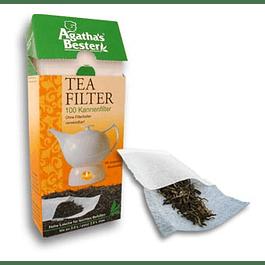 Filtros de papel para tetera (100 unidades)
