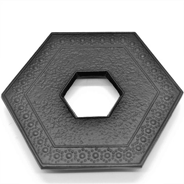 Salvamantel Iwachu Kikkou 13.5 cm Negro