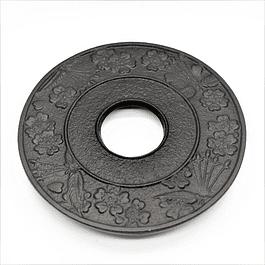 Salvamantel Iwachu Sakura 13.5 cm Negro