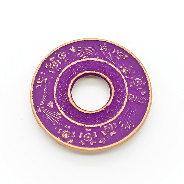 Salvamantel Iwachu Sakura Oro/Uva 10 cm
