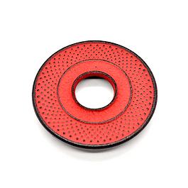 Salvamantel Iwachu Arare Rojo/Café 10 cm