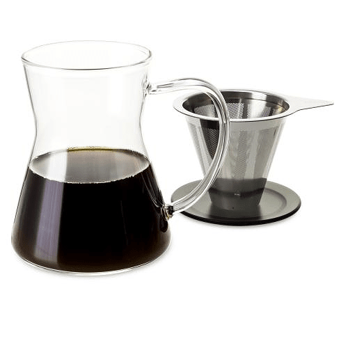 Cafetera por goteo Lucidity Drip in Mug 340 ml Negro