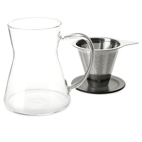 Cafetera por goteo Lucidity Drip in Mug 340 ml Turquesa