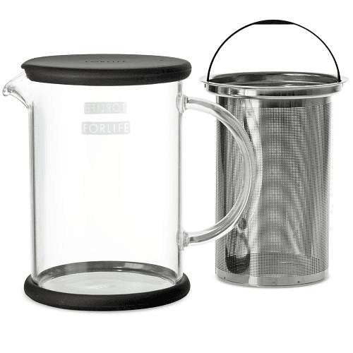 Tetera Lucent Glass 710 ml Kiwi