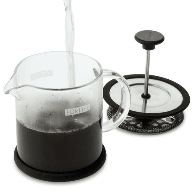 Cafetera de Prensa Francesa Café Style 473 ml Negro