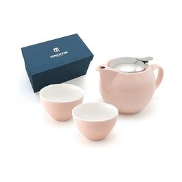 Juego de té para 2 personas Zero Japan Rosado 450 ml