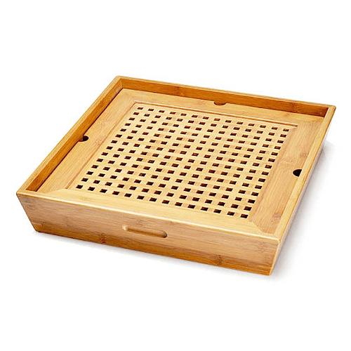 Bandeja cuadrada de Bambú