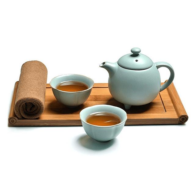 Set de té para 2 Tetera 5 piezas
