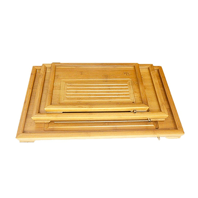 Bandeja Pequeña de Bambú