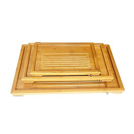 Bandeja Grande de Bambú