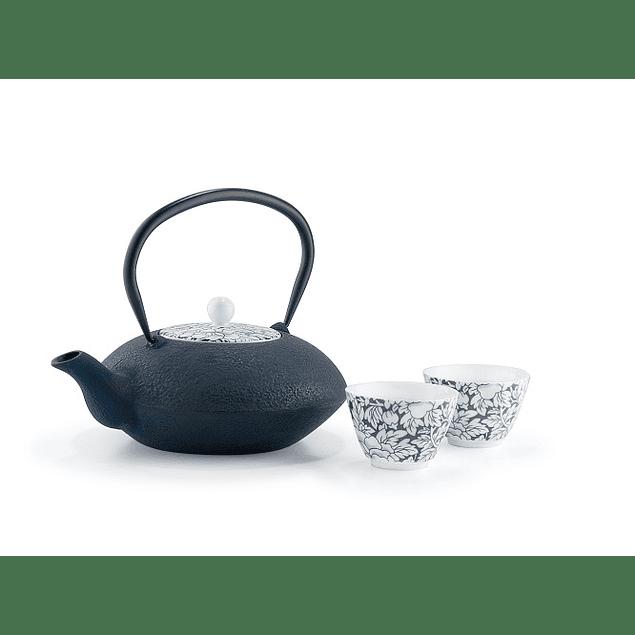 Tetera Yantai 1,2 litros con tapa de porcelana