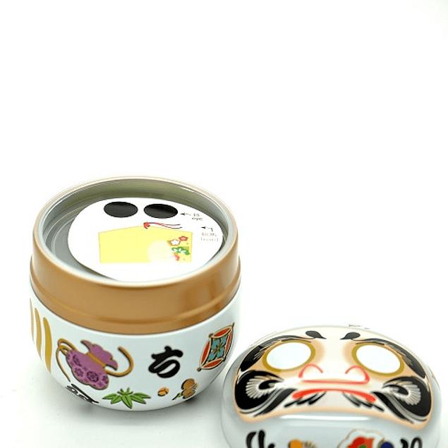 Maracuyá y Mango -  Suzuko Daruma Blanco 100 g