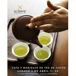 Cata y maridaje de tés de Japón / 6 de abril 2019