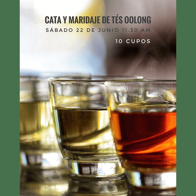Cata y Maridaje de tés oolong . Sábado 22 de junio, 11:30 horas