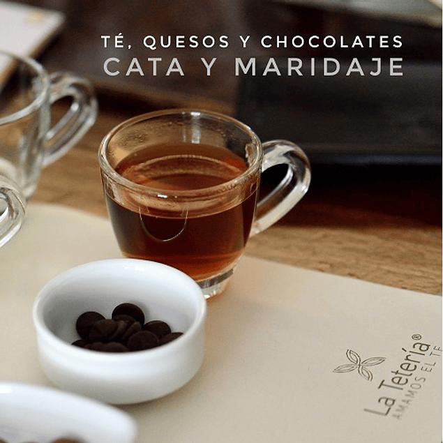 Cata y Maridaje de Té, Quesos y Chocolates