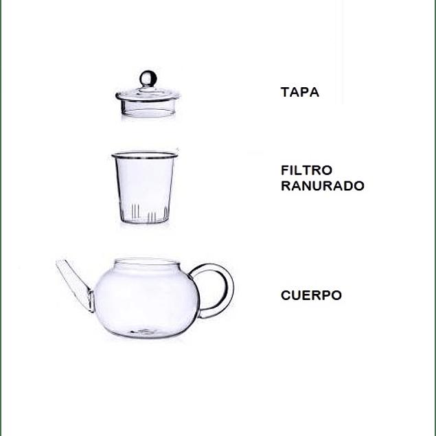 Tetera Mikado La Tetería 1 litro