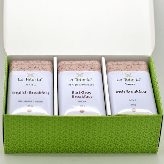 Selección clásica de té Inglés