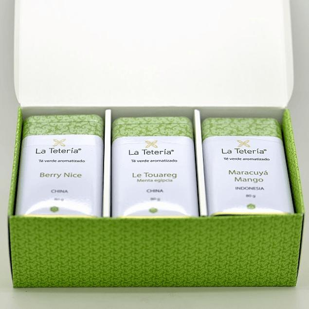 Selección de Té Verde Aromatizado