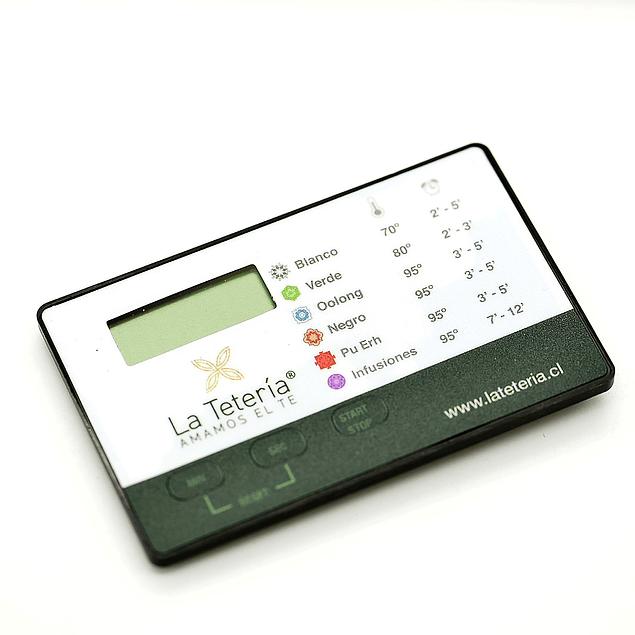 Cronómetro La Tetería - Timer Programable