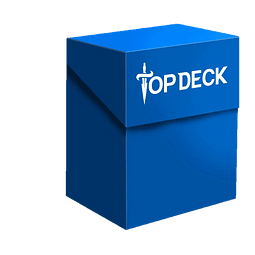 Portamazo Topdeck 60+ cartas color azul