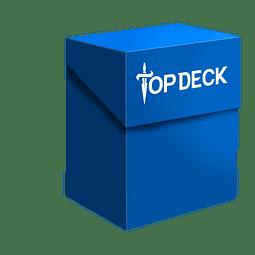 Portamazo Topdeck 60+ cartas color azul
