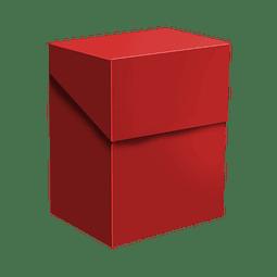 Portamazo Topdeck 60+ cartas color Rojo