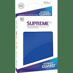 Set de 80 protectores Standard Ultimate Guard - Azul