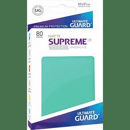 Set de 80 protectores Standard Ultimate Guard - Turquesa