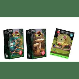 Preventa - Nueva Edición SELVA TCG - 2 Mazos Preconstruidos + Buy a Box