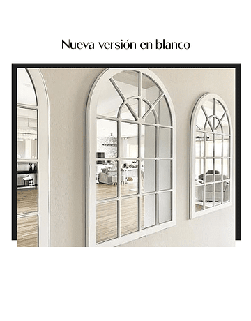 Espejo Provenza Blanco